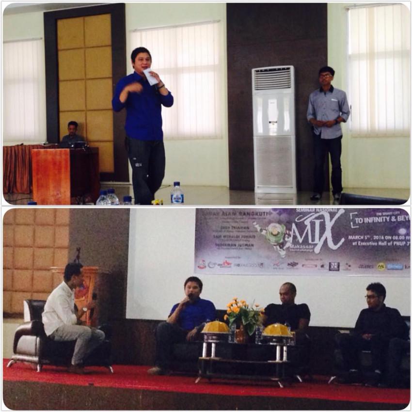 moderator seminar nasional makassar internet exchange