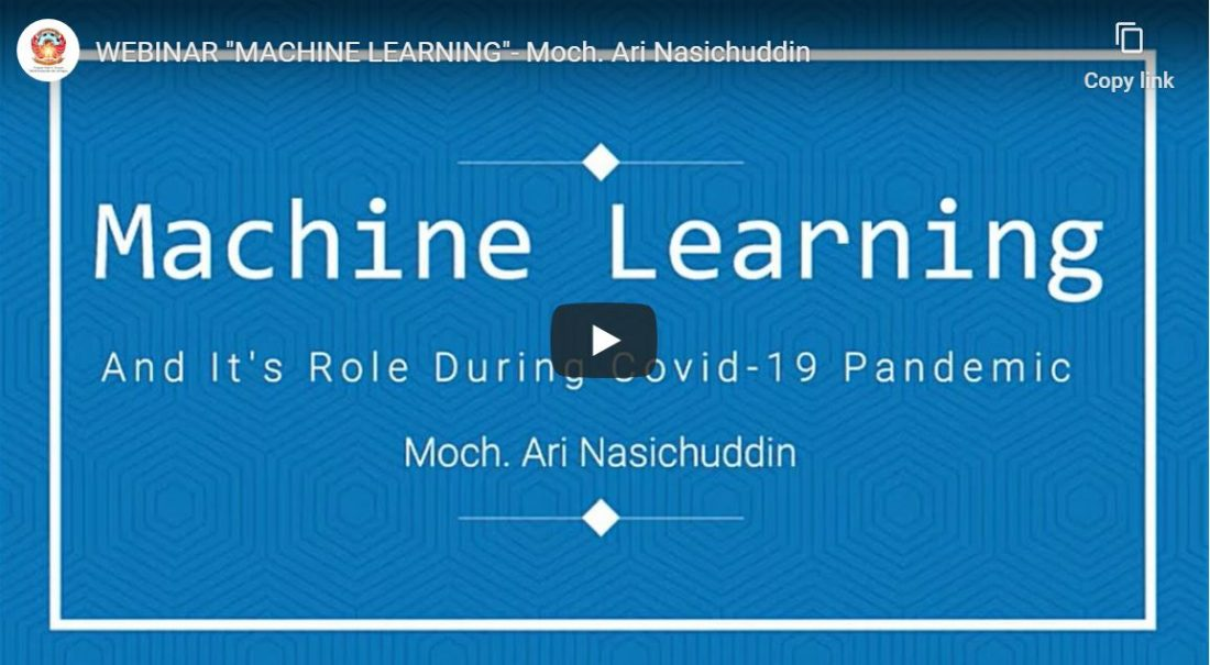 webinar machine learning pandemi covid-19